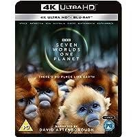 Seven Worlds, One Planet 4K ULTRA HD + BLU RAY [2019] UK IMPORT REGION FREE