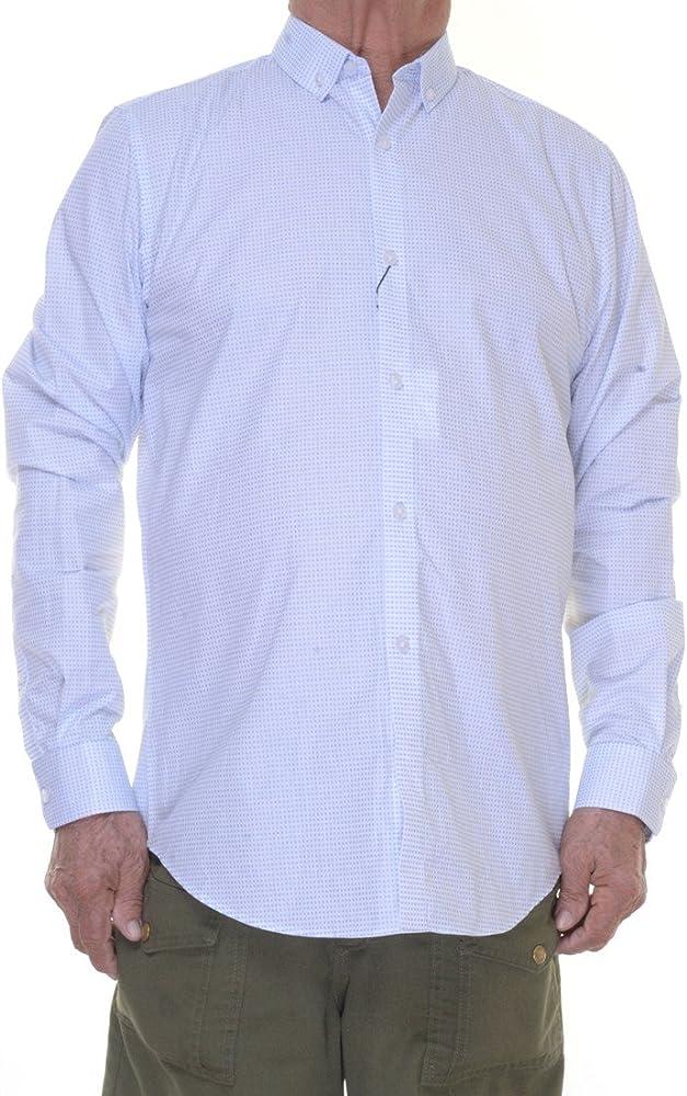 Calvin Klein Cool Tech Camisa de Manga Larga con Botones para Hombre - Blanco - XX-Large: Amazon.es: Ropa y accesorios