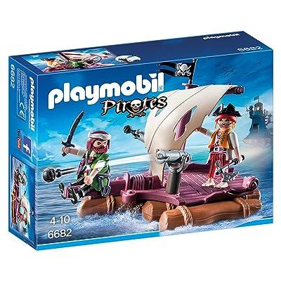 PLAYMOBIL Pirate Raft: Toys & Games