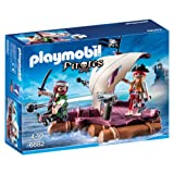 Playmobil 6682 Pirate Raft -Multi-Coloured