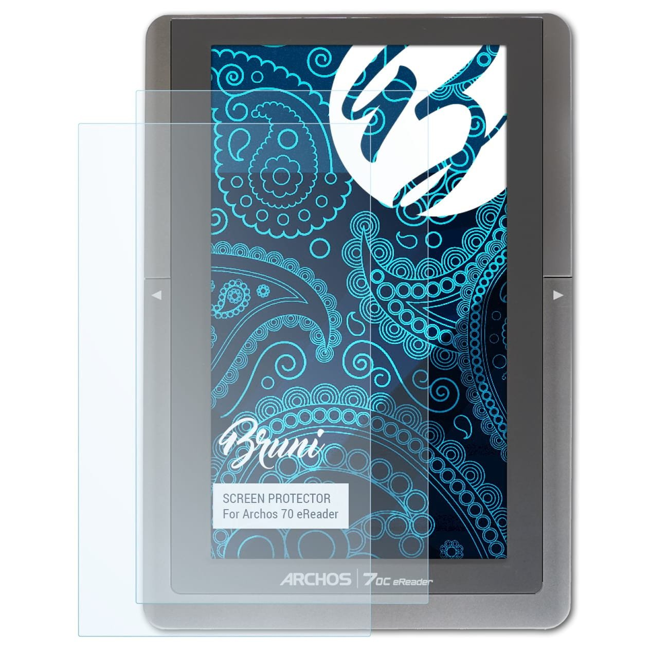 Bruni Película Protectora para Archos 97 Platinum HD Protector ...