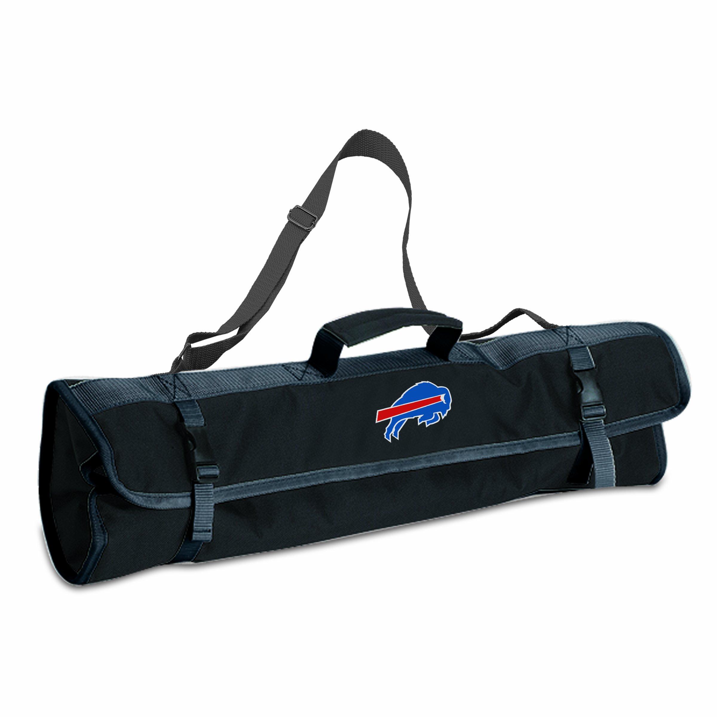PICNIC TIME NFL Buffalo Bills 3-Piece BBQ Tool Tote