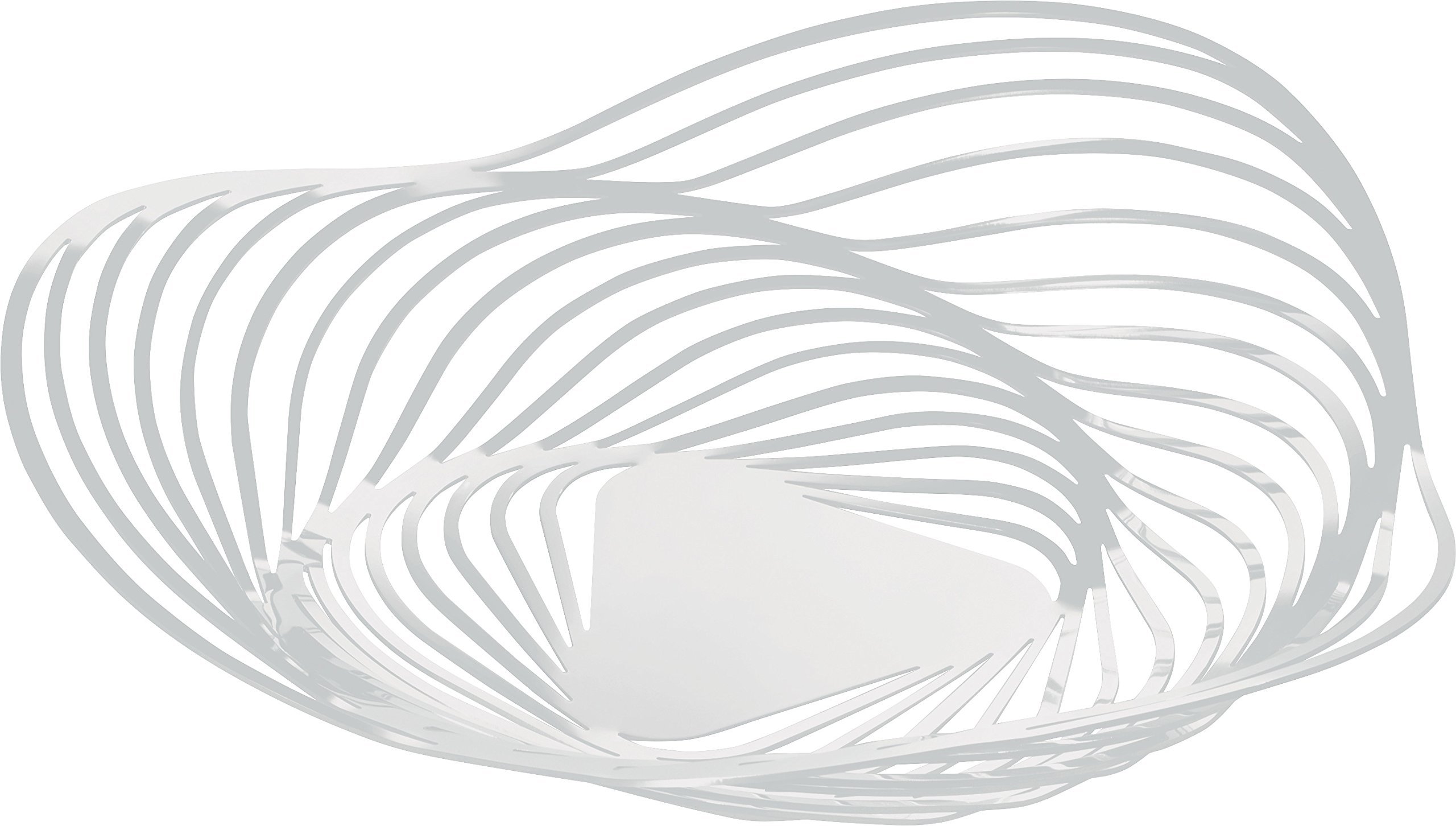 Alessi''Trinity'' Centerpiece in Steel Colored with Epoxy Resin, White by Alessi (Image #1)