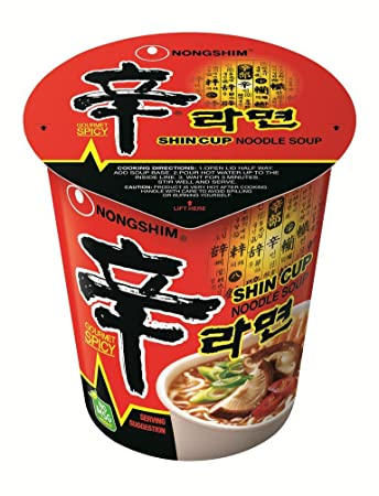 Asian packaged noodles