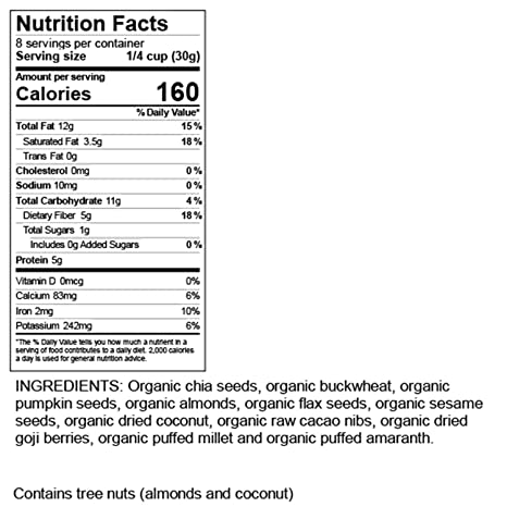 Mezcla de 11 cereales sin gluten para alivio de IBS – por ...
