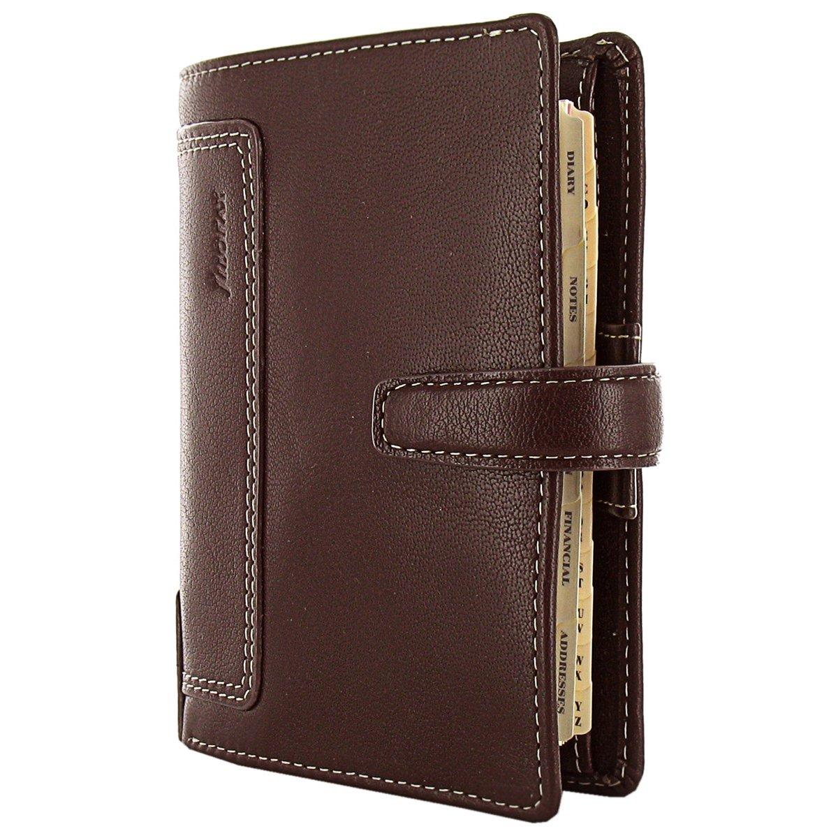 Filofax Holborn Pocket Leather Organizer Brown (025119)