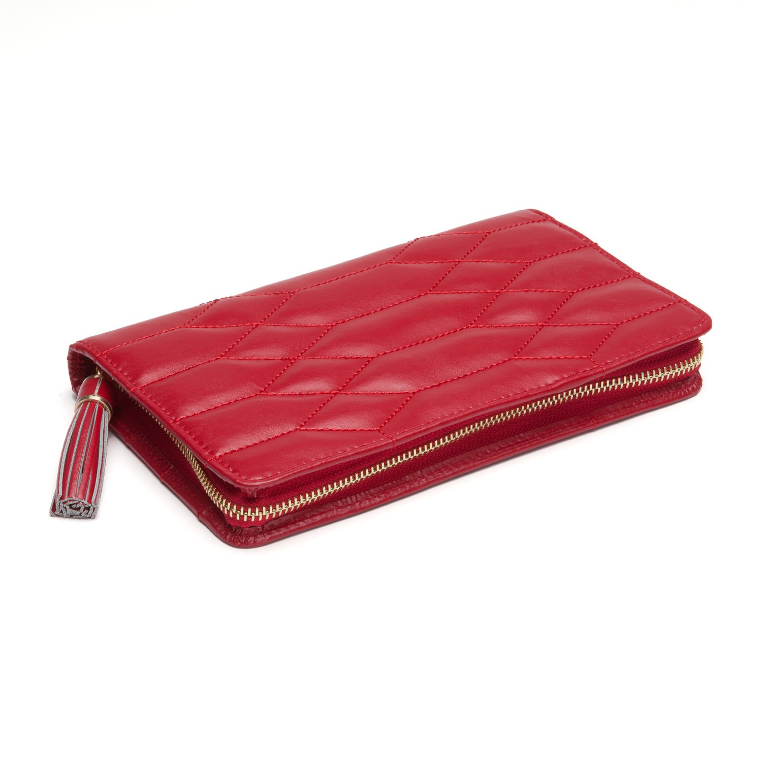 WOLF 324872 Caroline Jewelry Portfolio, Red by WOLF