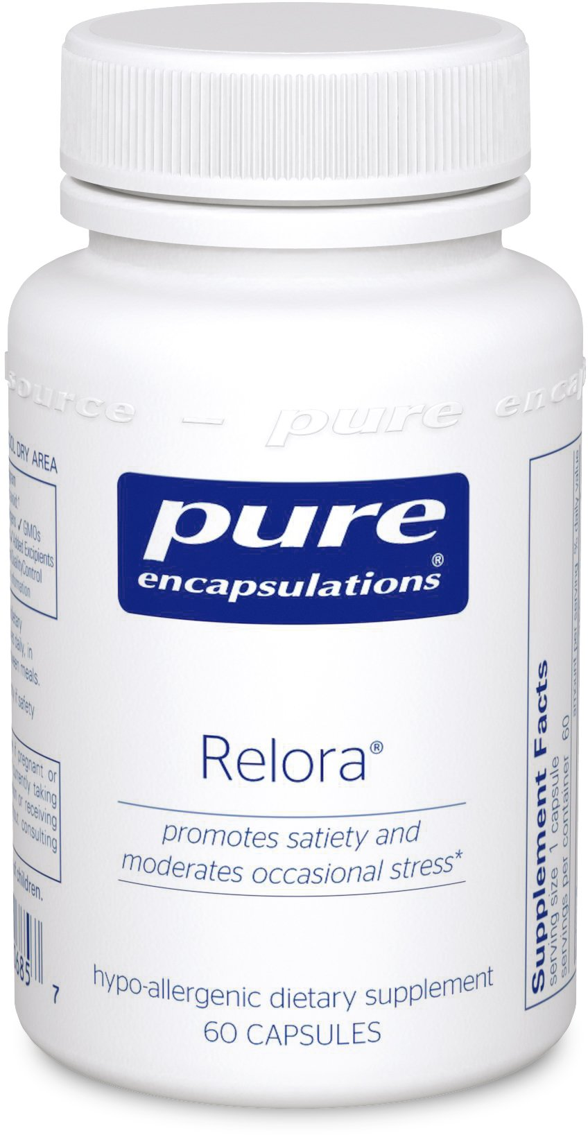 Pure Encapsulations - Relora - Hypoallergenic Supplement Promotes Healthy Cortisol and DHEA Production and Moderates Occasional