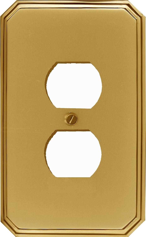 runwireless Italiaスイッチプレート、ソリッドキャスト真鍮 D_ 1-64D 1 – 64 Duplex - - D ブラス 1-64D B01D0525EA Duplex - D, 豊栄薬品:ef1d1050 --- gamenavi.club