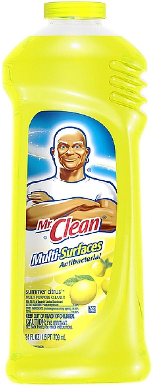 Mr. Clean 抗菌マルチサーフェスクリーナー サマーシトラス 24オンス 11個パック B01IAIOHSE