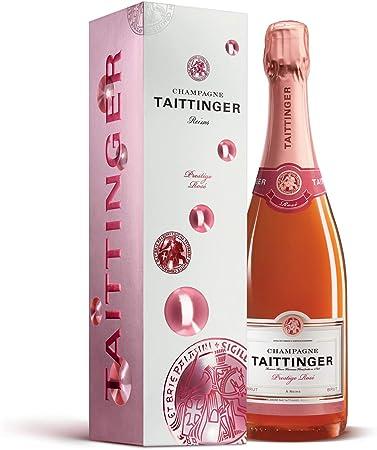 Taittinger Prestige Rose Brut, Champagne espumoso, 1 x 0.75 l