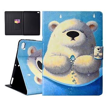 Outter Smart iPad 9.7 2018/2017 Funda, Slim Shell Case Cover Cuero Carcasa con Función de Stand y Auto-Sueño/Estela Función para Apple Nuevo iPad Air ...