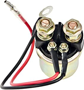 PROCOMPANY Starter Relay Solenoid Replaces FOR Yamaha 50 60 HP Outboard Boat Motor Engine 1989-UP