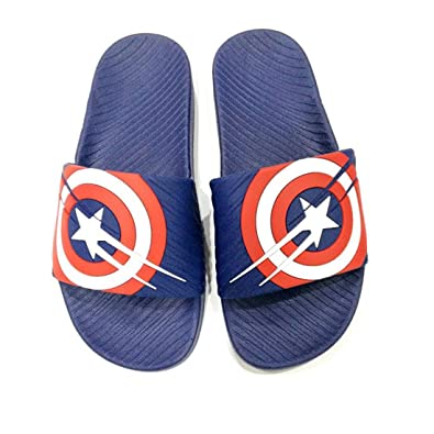 c61bbdd9a4a9 INF Men s Blue Rubber Flip Flop - 7 UK  Buy Online at Low Prices in India -  Amazon.in