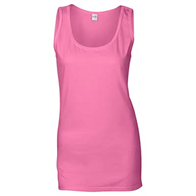 a7b83fe6b8 Gildan Ladies Soft Style Tank Top Vest: Amazon.co.uk: Clothing