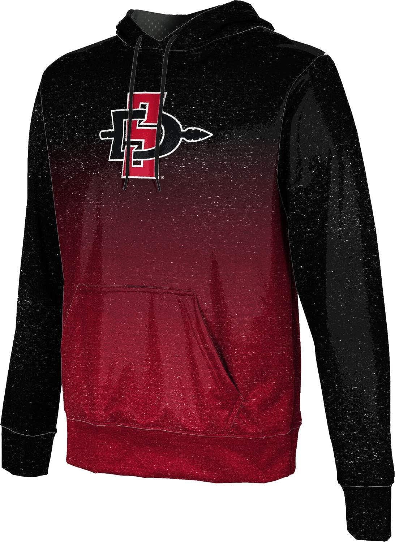 San Diego State University Boys Pullover Hoodie Ombre School Spirit Sweatshirt