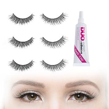 c3e5713117c Cat-eye Effect Volume & Depth False Eyelashes Set with DUO Dark Glue   6