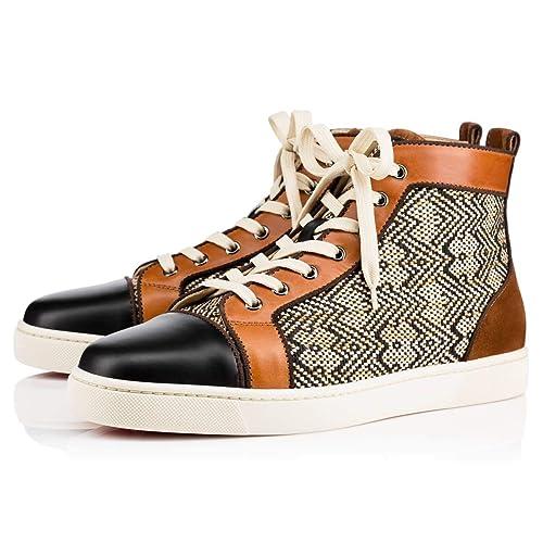 online store 2d073 26981 Amazon.com   Christian Louboutin Authentic Louis Flat Calf ...