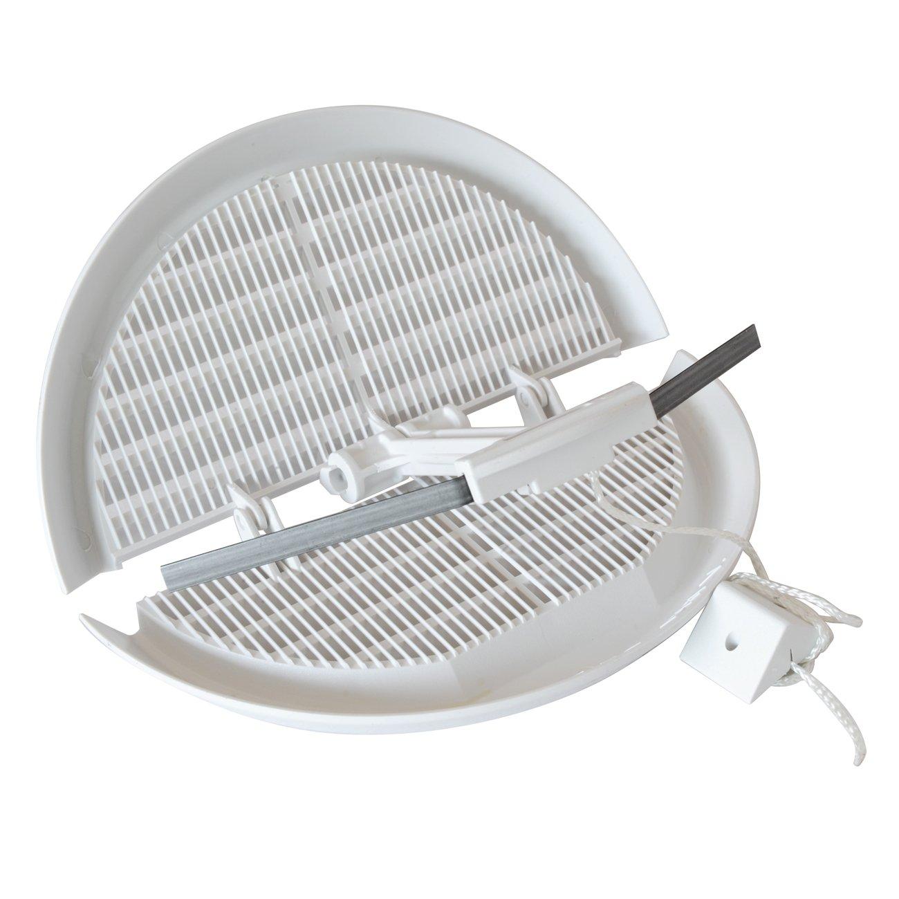/Ø 170/mm La ventilation dfr140/x grille de ventilation en plastique pliable