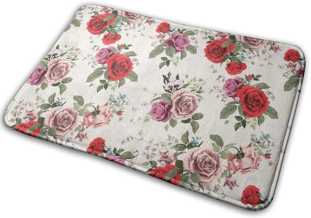Kitchen Mat Wildflowers Bath Mat Memory Foam Bath Mat Gift Under 50 Photo Printed Bath Mat Functional Art Floral Decor