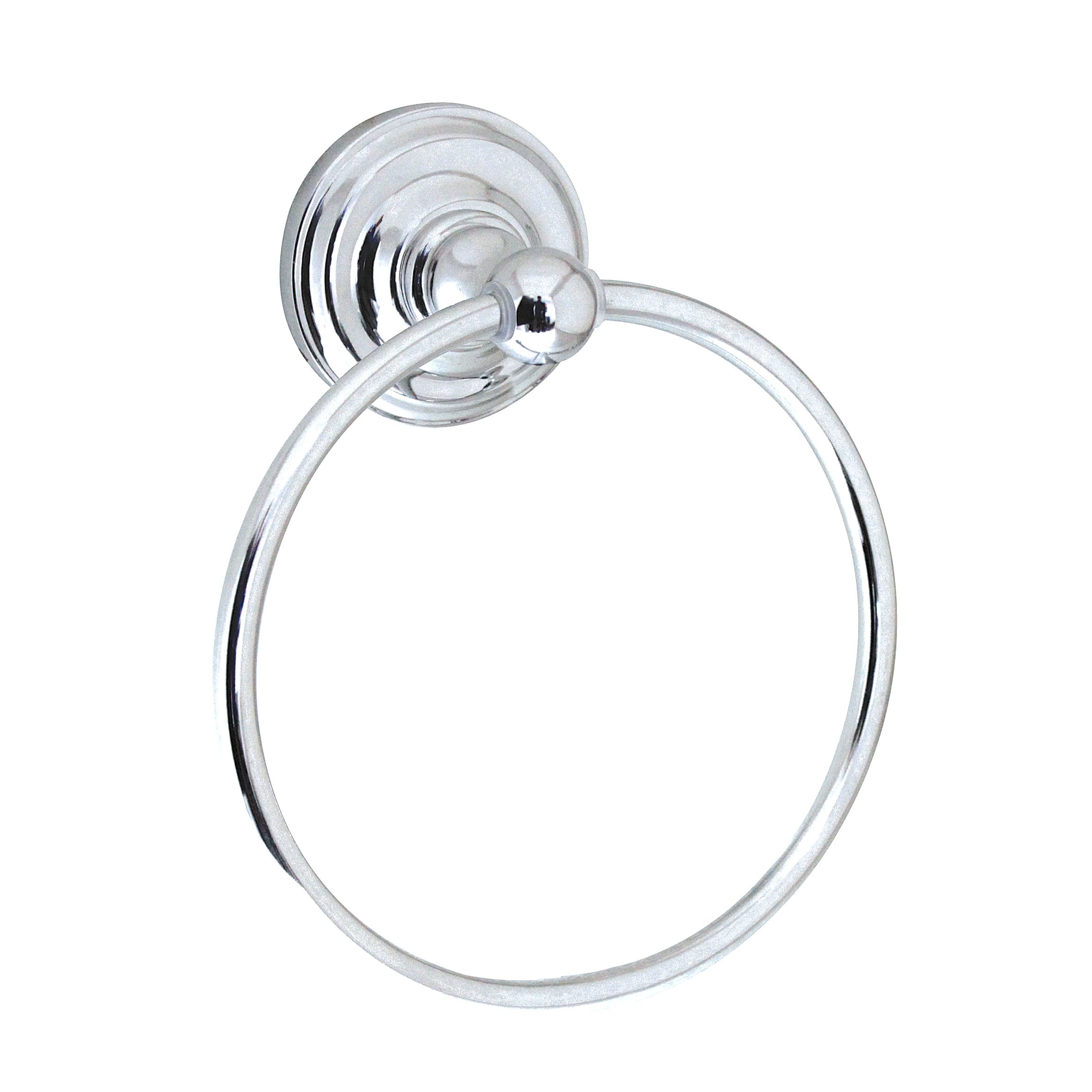 MODONA Towel Ring - Polished Chrome - Viola Series - 5 Year Warrantee