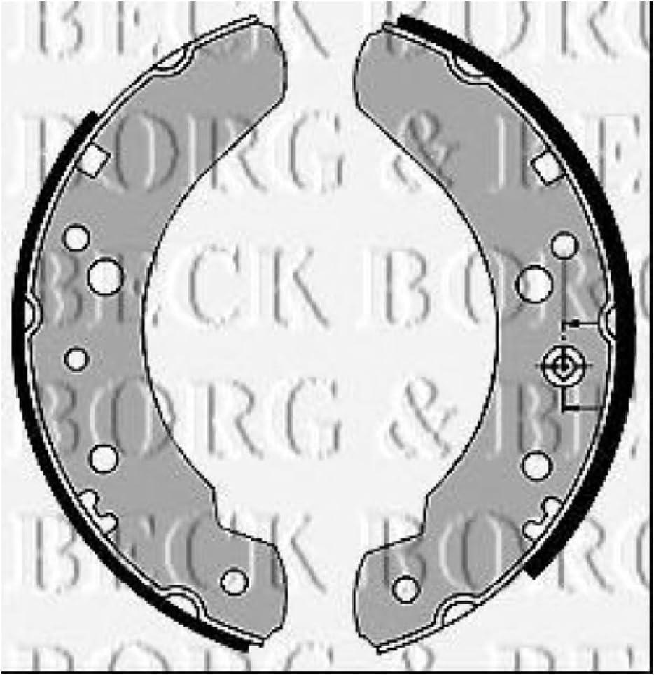 Borg /& Beck BBS6209 Brake Shoes