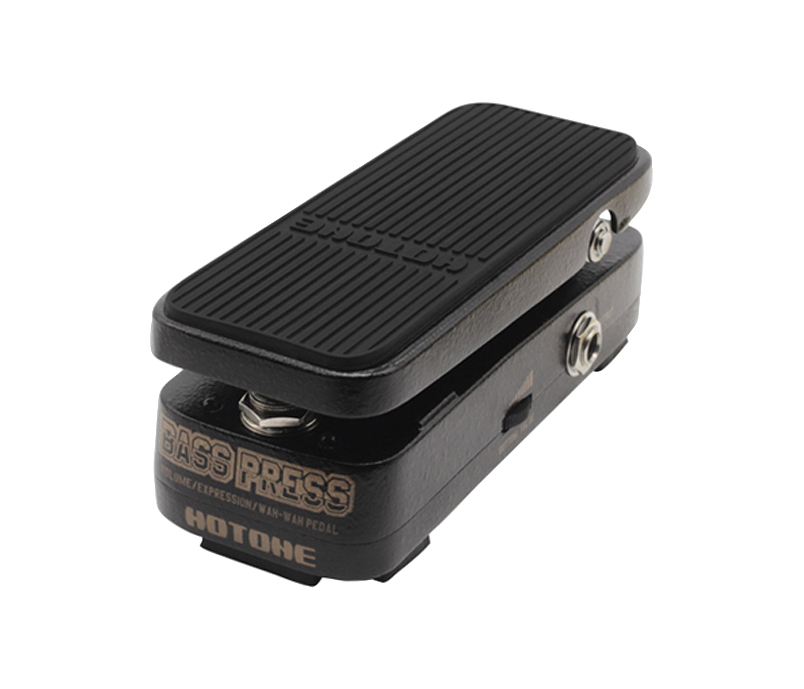 Hotone Audio BP-10 Bass Press 3 in 1 Vol/Wah/Expression Bass Guitar Effects Pedal by Hotone Audio
