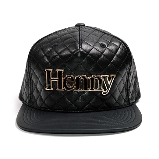 Connetic Henny Gold Quilted Strapback at Amazon Men s Clothing store  5bb709fd805a