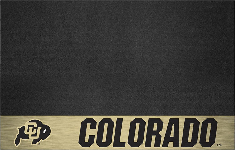 Small Black NCAA University of Colorado Grill Mat