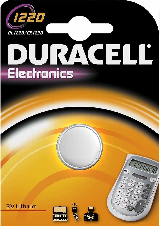 Lithium Knopfzellen Cr 1220 3 V Typ Elektronik