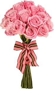 """Paper House Productions 4"""" x 2.5"""" Die-Cut Dusty Rose Bouquet Shaped Magnet for Refrigerators and Lockers"""