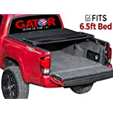 Gator Tri-Fold Tonneau Truck Bed Cover 2007-2013 Toyota Tundra 6.5 ft Bed