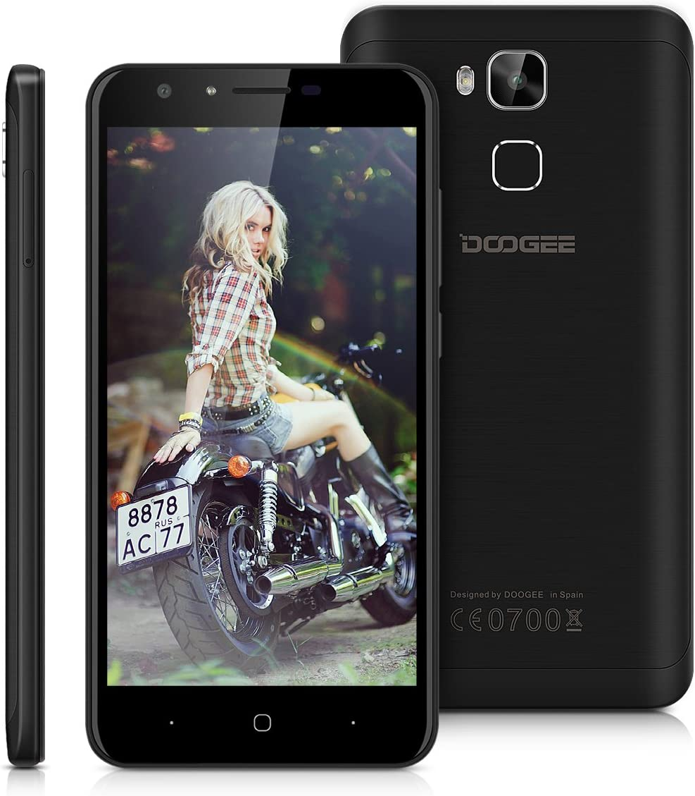 Doogee Y6C - 4G Smartphone Libre Android 6.0 Marshmallow (5.5 ...