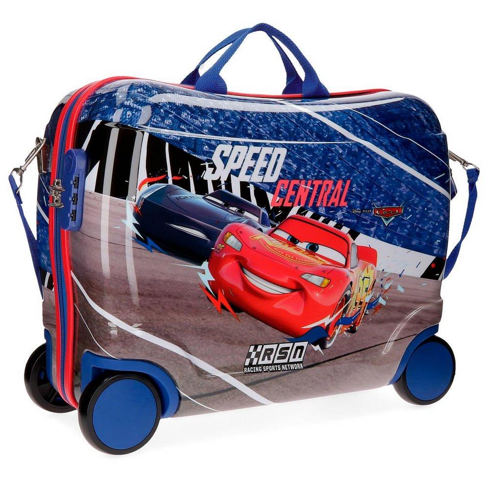 Cars Central Bagage Enfant, 50 cm, 34 liters, Multicolore (Multicolor) 43699C1