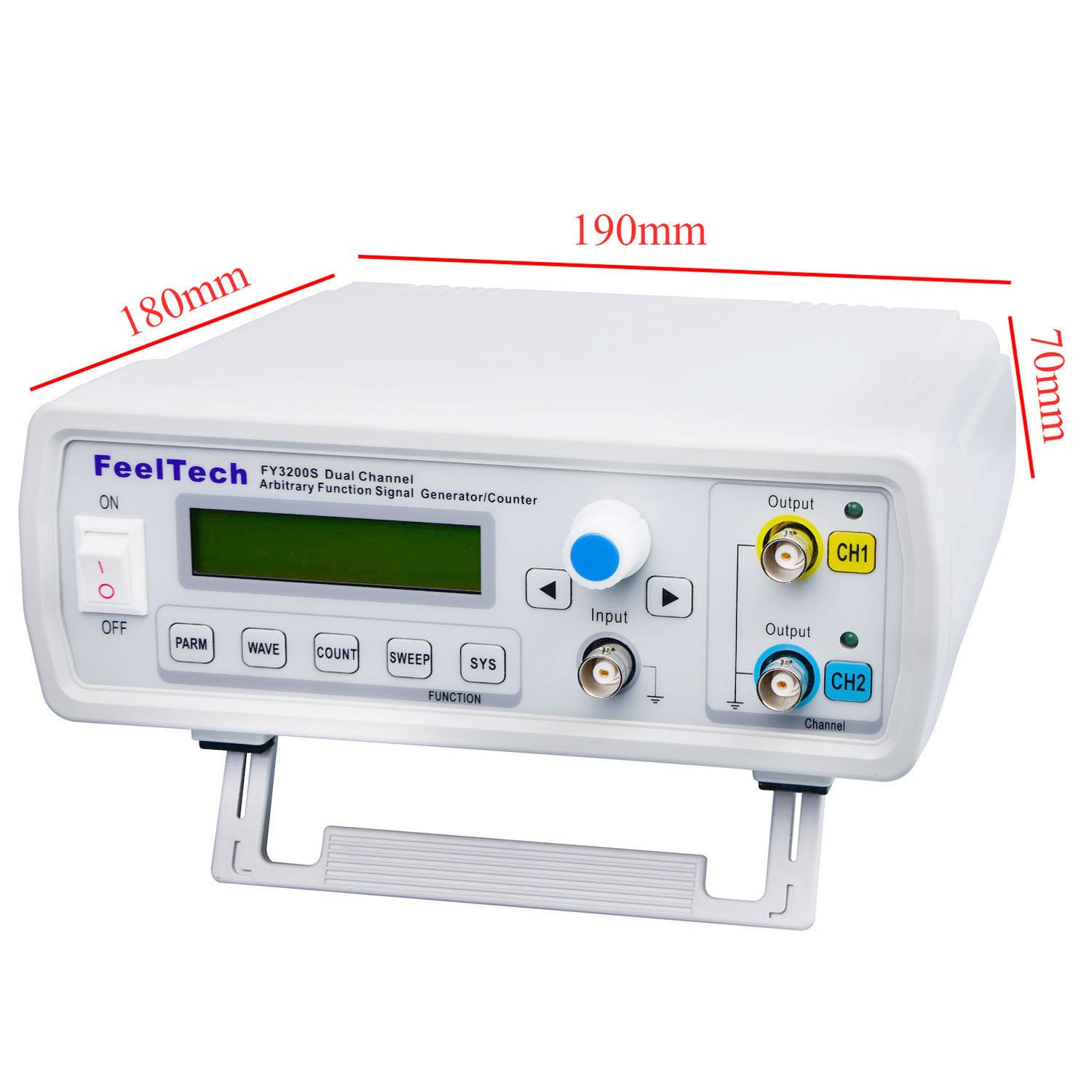 FY3224S Dual-channel Arbitrary Waveform DDS Function Signal Generator 3200-24MHz