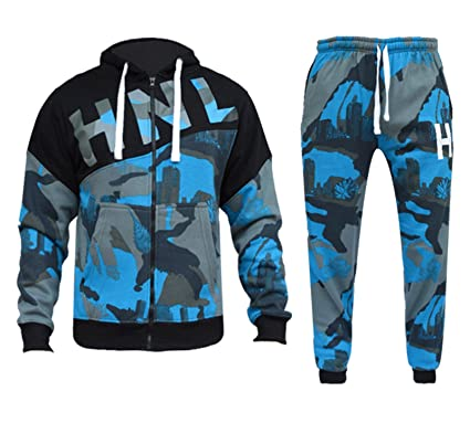 Star Trendz Mens Tracksuit Joggers Sweatshirt Hoddie Zip Up Top Jog Pants  Cuffed Trouser Bottoms Sports 784d663f197e