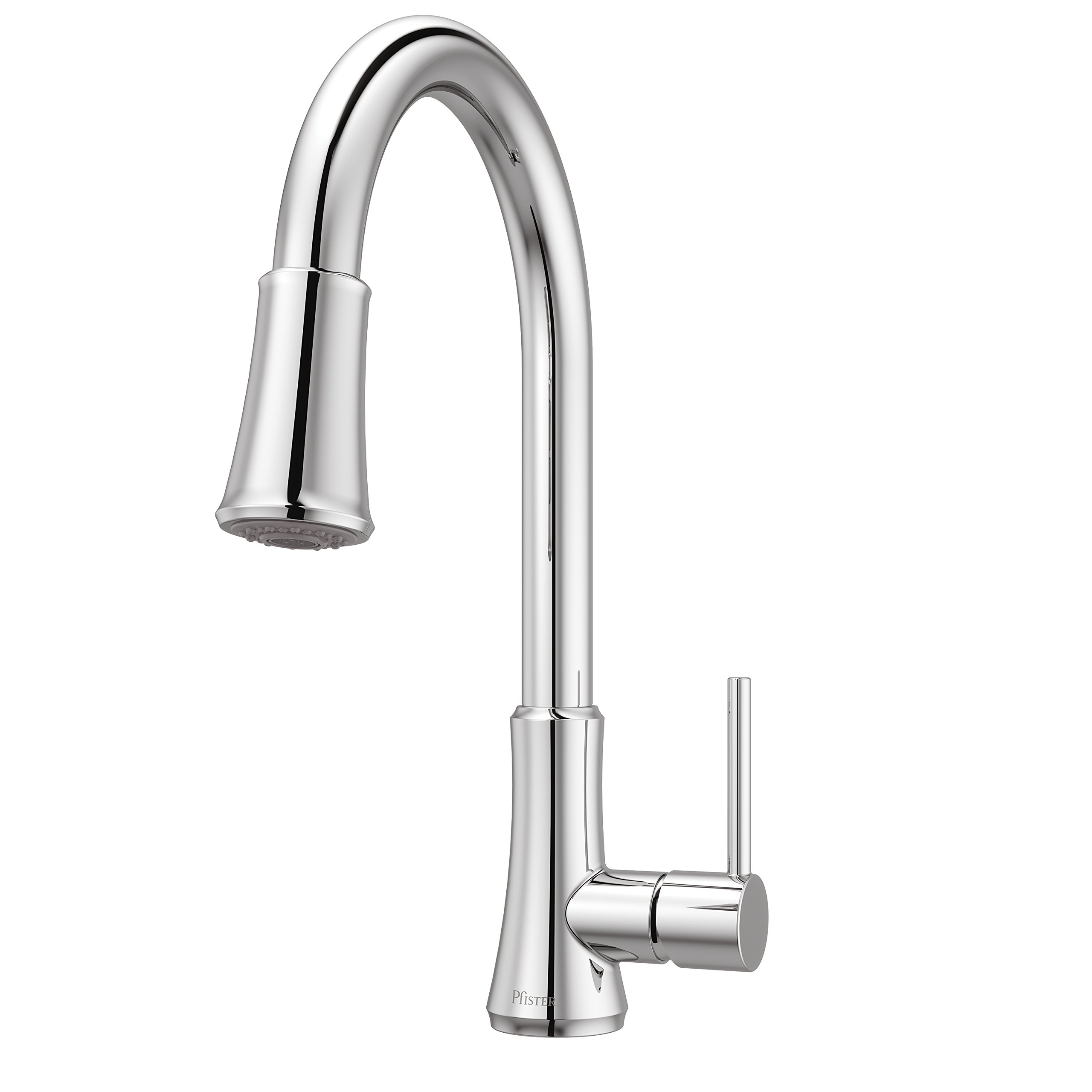 Details About Pfister G529PF1C Pfirst Series Single Handle Pull Down  Kitchen Faucet In