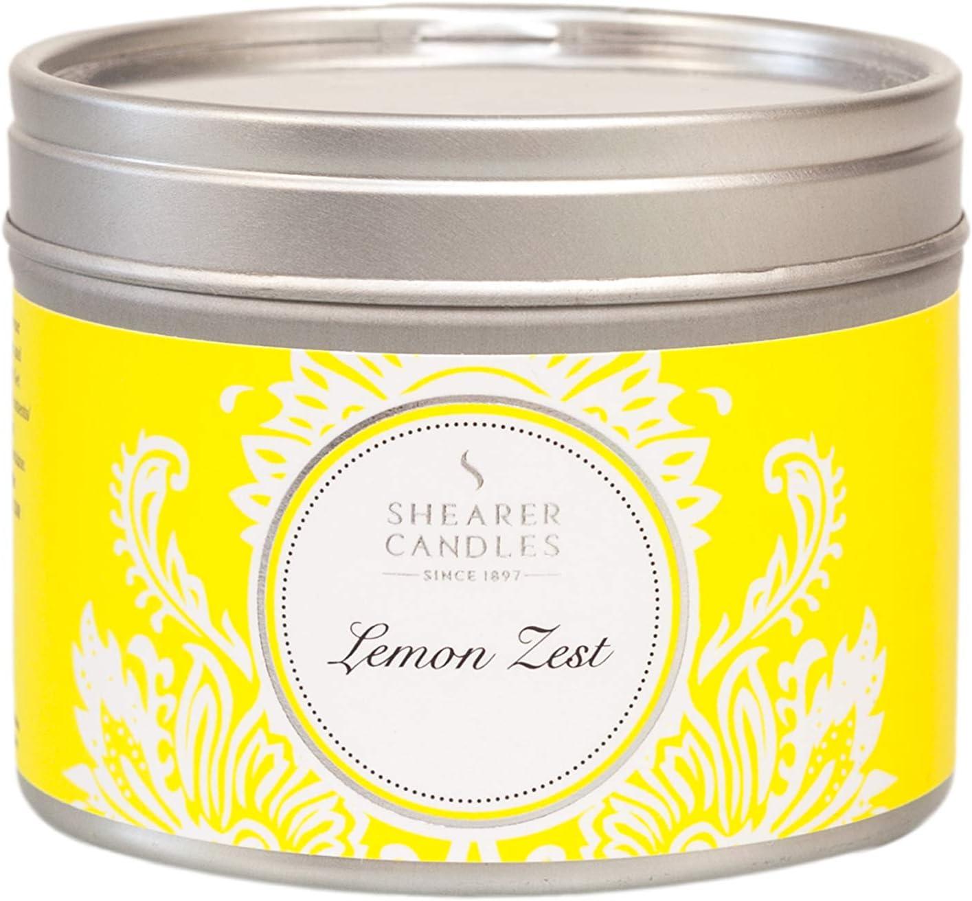 Shearer Candles - Vela aromática (Aroma a limón, Aroma a Mecha de ...