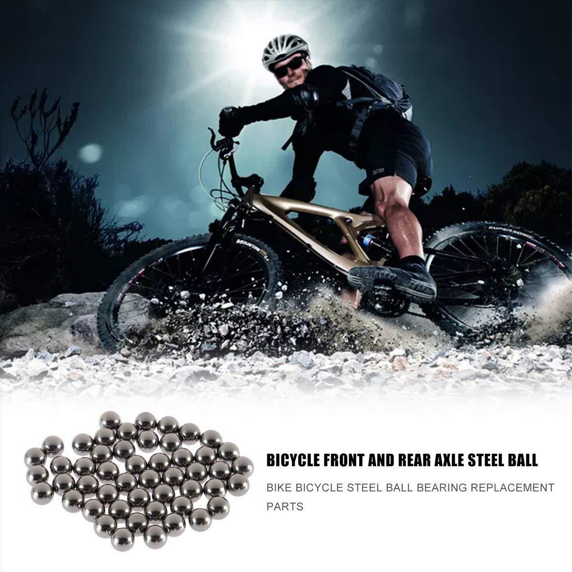5 Parti di ricambio della sfera dellacciaio inossidabile della bicicletta durevole di 50mm 4mm 5mm 6mm 8mm 9mm 10mm Cuscinetto a sfera dacciaio della bicicletta della bici