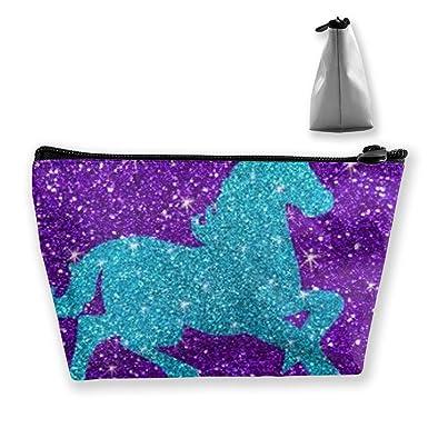 Amazon.com: Estuche con purpurina de unicornio, bolsa con ...