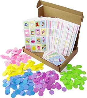 Amazon.com: Juego de Lotería para Baby Shower. Bingo for ...