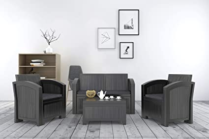 Amazon.com: Rimdoc Juego de sofá para exteriores, sofá de ...