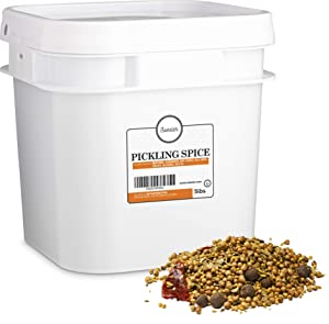 Sweeler, Pickling Spice, Value Large Bucket Size for Food Service or Home Use, 5lbs