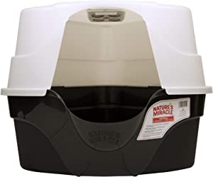 Good'n'Fun Nature's Miracle Advanced Hooded Corner Litter Box