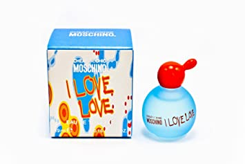 cfad6791fbe12 Amazon.com   I Love Love By Moschino For Women. Miniature Eau De Toilette 5  Ml.   Cheap And Chic Moschino Perfume   Beauty