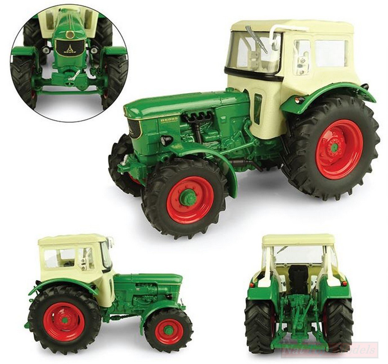 NEW Universal Hobbies UH5253 DEUTZ D6005 4WD with Cabin 1:32 MODELLINO Die Cast