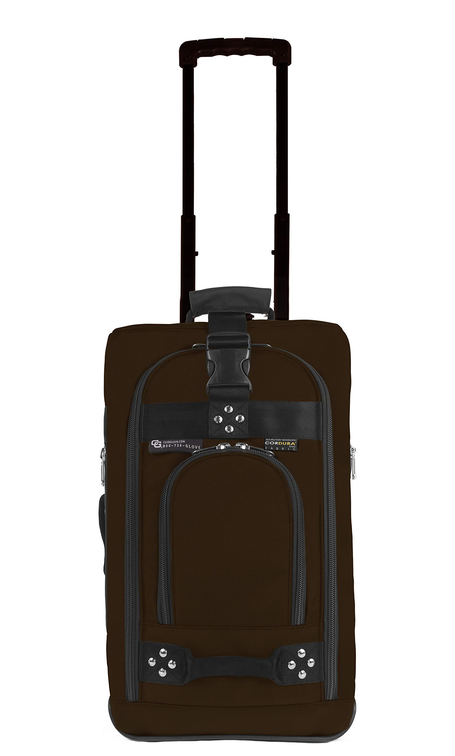 Club Glove Carry On Bag III Travel Luggage (Mocha)