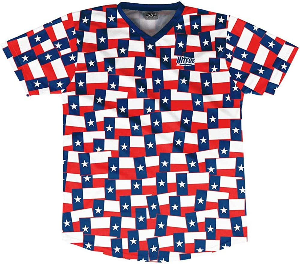 Ultras Texas State Party Flags Soccer Jersey