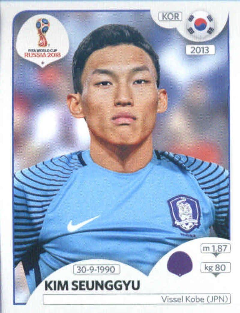 Südkorea Panini WM 2018 World Cup Russia Hwang Heechan Sticker 511