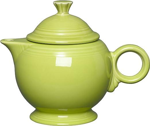 Fiesta Large Teapot in Lemongrass NEW Never Used Fiestaware